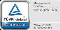 Testmark Prüfzeichen ISO27001